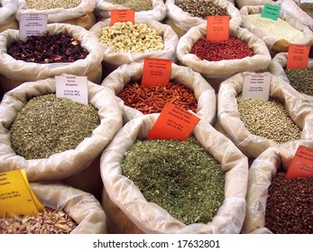 Spices in Provence, France