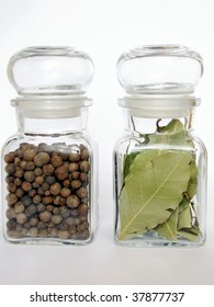 spices in two jars