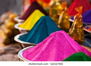Spicies on Goa market, Goa state, India.