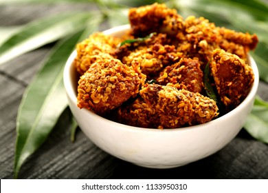 Spicy chicken fry -Asian cuisine,
