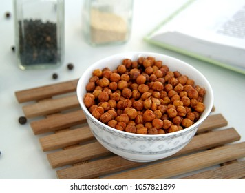 Spicy chickpeas with spices