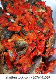 spicy chilki sauce traditional food west sumatra