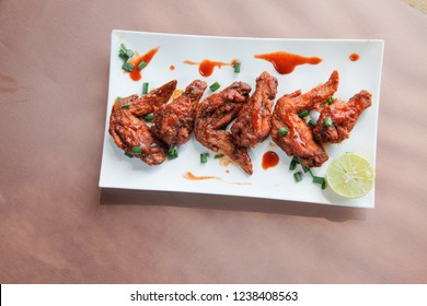 Spicy Chipotle Flavoured Chicken Wings