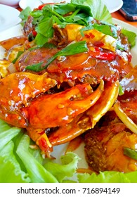 Spicy crab