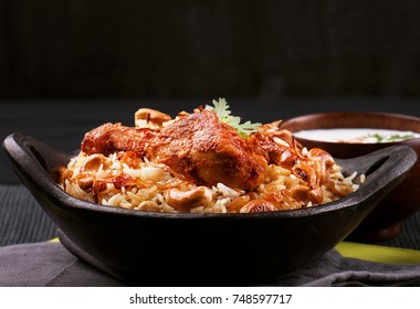 Spicy and delicious Chicken biryani