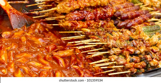A spicy fast food simply found at local Korean martket, Soul Korea