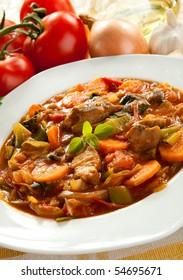 Spicy goulash