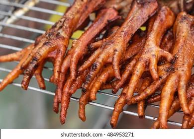 Spicy Grilled Chicken Feet