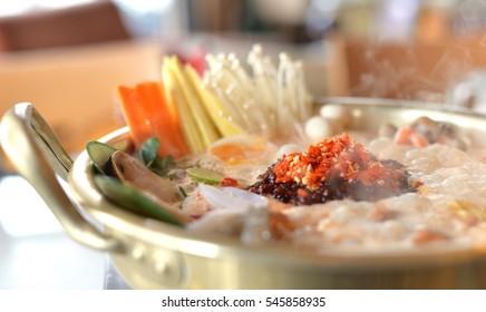 Spicy Korean Hotpot