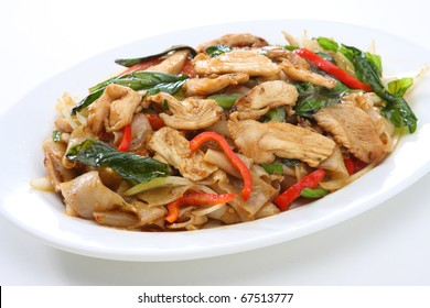 Spicy Rice Noodle Chicken