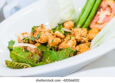 Spicy Salmon, Thaifood