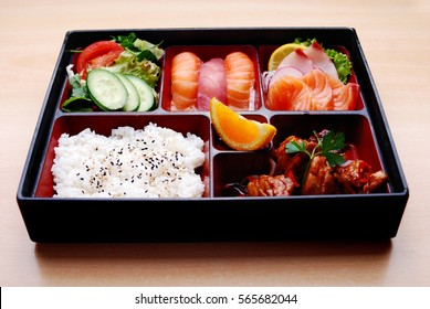Spicy teriyaki chicken Bento