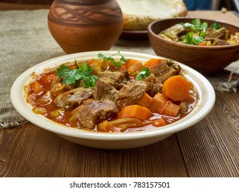 Spicy Welsh Lamb - Hotpot With Vegetables