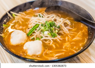 Spicy Yunnan rice noodle soup