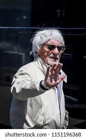 Spielberg, Austria. 01/07/2018. F1 Grand Prix of Austria. F1 World Championship 2018. Bernie Ecclestone.