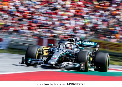 Spielberg, Austria. 28 June, 2019. Grand Prix of Austria. F1 World Championship 2019. Lewis Hamilton, Mercedes.