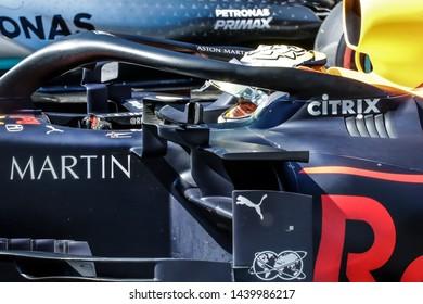 Spielberg, Austria. 28 June, 2019. Grand Prix of Austria. F1 World Championship 2019. Max Verstappen, Red Bull, winner of Grand Prix of Austria.