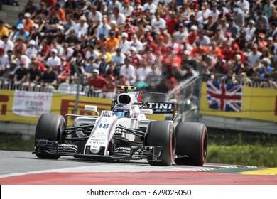 Spielberg, Austria. 9 July 2017. F1 Grand Prix of Austria. Lance Stroll, Williams.
