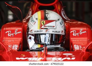 Spielberg, Austria. 9 July 2017. F1 Grand Prix of Austria. Sebastian Vettel, Ferrari.