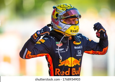 Spielberg, Austria - June 27-30, 2019: VERSTAPPEN Max (ned), Aston Martin Red Bull Racing Honda RB16, portrait
