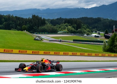 Spielberg/Austria - 06/28/2018 - #33 Max Verstappen (NDL) in his Red Bull Racing RB14 during the morning free practice at the team's home race at the Red Bull Ring