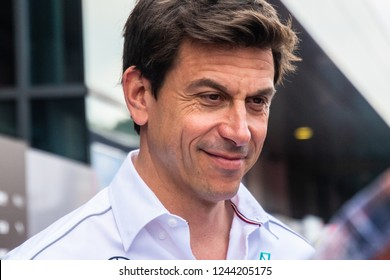Spielberg/Austria - 06/28/2018 - Toto WOLFF (AUS), Executive director of Mercedes-AMG-Petronas Formula One Team ahead of the 2018 Austrian Grand Prix at the Red Bull Ring