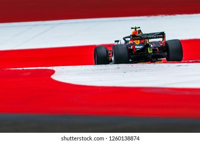 Spielberg/Austria - 06/29/2018 - Max Verstappen (NDL) in his Red Bull Racing RB14 during the Friday afternoon practice ahead of the 2018 Austrian Grand Prix at the Red Bull Ring