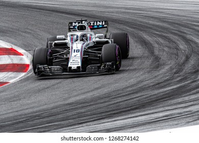 Spielberg/Austria - 06/30/2018 - #18 Lance Stroll (CAN) in his Williams FW41 during qualifying for the 2018 Austrian Grand Prix at the Red Bull Ring