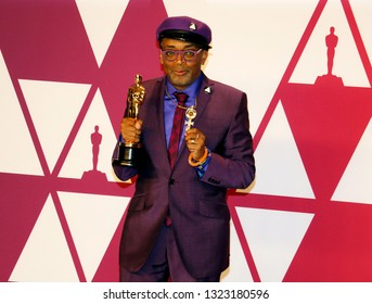 Spike Lee at the 91st Annual Academy Awards - Press Room held at the Hollywood and Highland in Los Angeles, USA on February 24, 2019.
