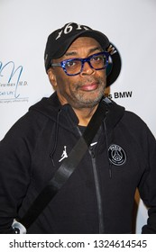 Spike Lee arrives at The Rafi 2019 Pre-Oscars Gifting Lounge at the Waldorf Astoria Hotel, Beverly Hills, CA on Feb. 22, 2019.