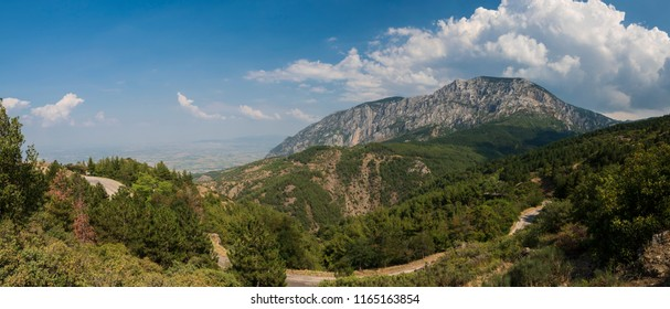 Spil Mountain panoramic view - City of Manisa - Turkey