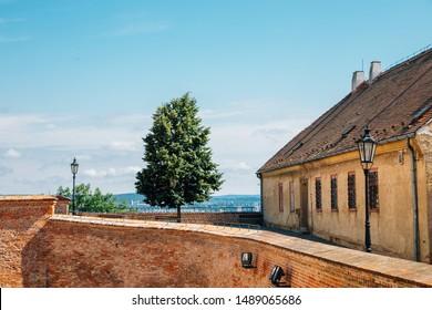 Spilberk Castle observatory in Brno, Czech Republic
