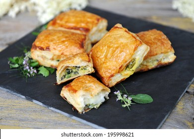 Spinach and vegetable pastry - Greek food