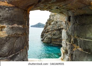 Spinalonga on the island of Crete