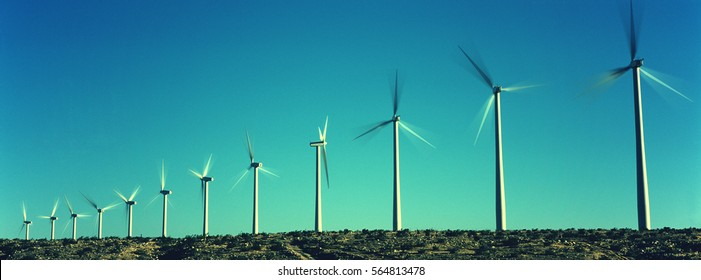 Spinning Wind Turbines