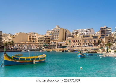 Spinola Bay in St Julians Valletta