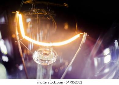spiral filament light