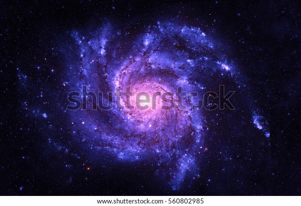 Спиральная Галактика - Элементы этого изображения, меблированные НАСА