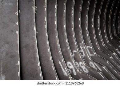 Spiral for inside pressure vessel, Jacket Vessel
