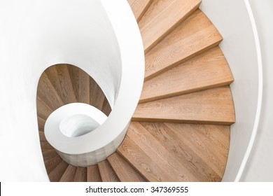 Spiral staircase inside building, Modern spiral staircase, Luxurious interior staircase, Home stair symbol, Modern stairs, Communicating element house