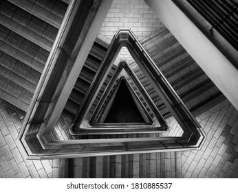 Spiraltreppe Treppe Treppe Räume Modernes Gebäude Details Architektur