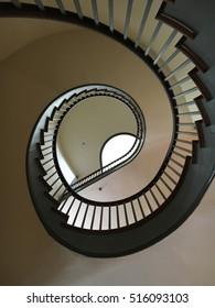 Spiral Stairway at Shaker Village of Pleasant Hill, Kentucky