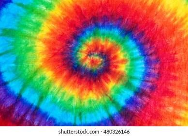 spiral tie dye pattern background.