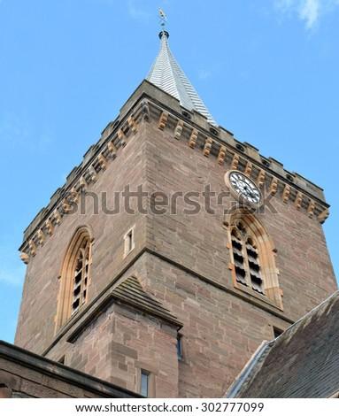 Spire St Johns Kirk Church Oldest Stock Photo (Edit Now