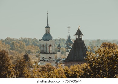 Spires and domes of Suzdal architecture