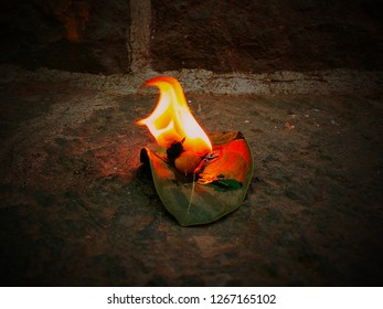 The Spirit is in the fire.