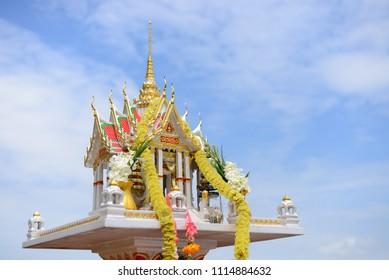 Spirit house (joss house) in thailand