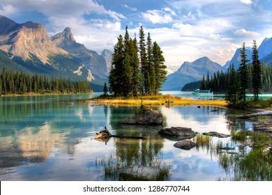 Spirit Island Alberta Canada