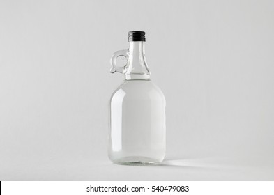 Spirits / Liquour Growler Mock-Up