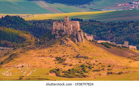 spis castle slovakia UNESCO medieval fortress european history The Geoglyph of Celtic Horse